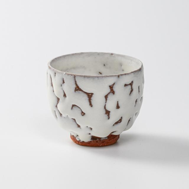 萩焼(伝統的工芸品)汲出し湯呑小鬼白竹呉器