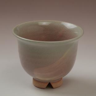 萩焼(伝統的工芸品)汲出し湯呑中刷毛姫朝顔