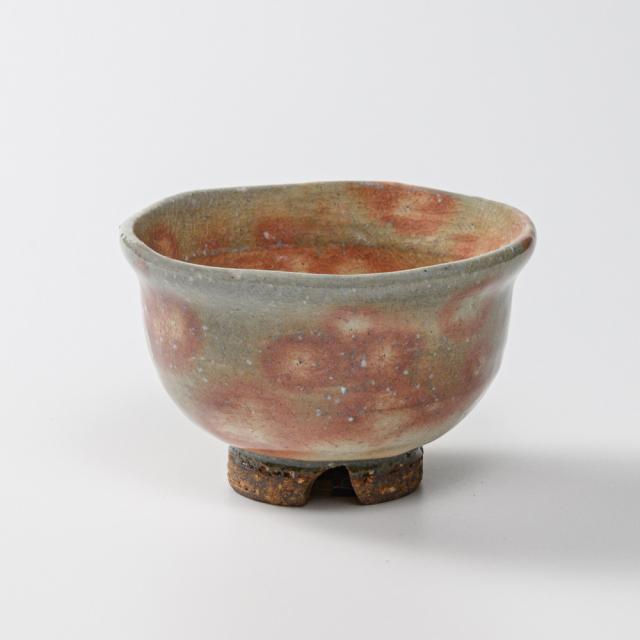 萩焼(伝統的工芸品)汲出し湯呑大御本手朝顔