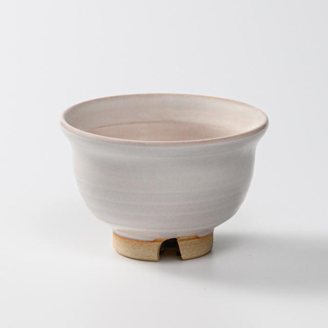 萩焼(伝統的工芸品)汲出し湯呑大白姫朝顔No142