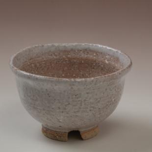 萩焼(伝統的工芸品)汲出し湯呑大鬼萩朝顔