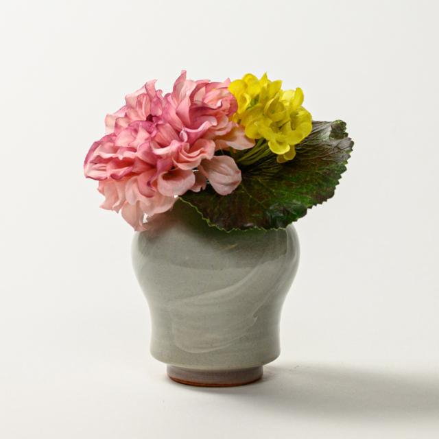 萩焼(伝統的工芸品)ミニ花入刷毛姫瓶子