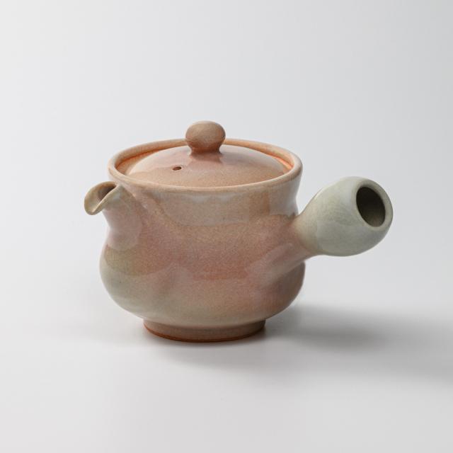 萩焼(伝統的工芸品)急須中姫萩筒鉄砲口