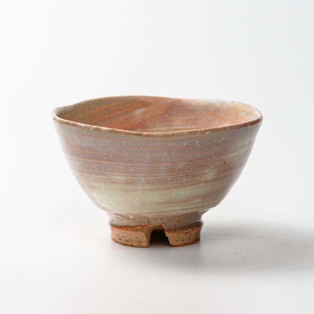 萩焼(伝統的工芸品)抹茶碗刷毛姫荒井戸形