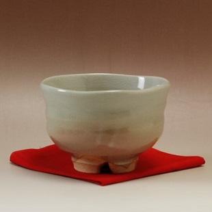 萩焼(伝統的工芸品)抹茶碗姫萩端反
