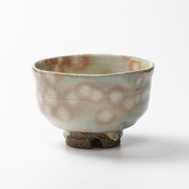 萩焼(伝統的工芸品)抹茶碗御本手端反