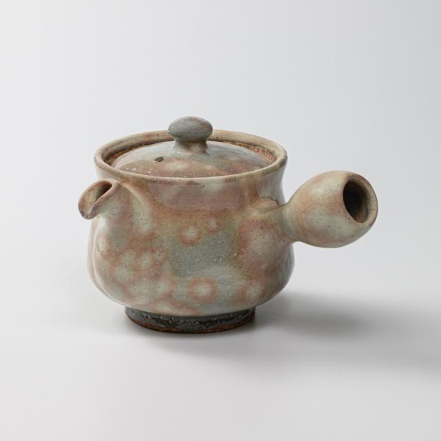 萩焼(伝統的工芸品)急須中御本手筒鉄砲口