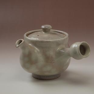 萩焼(伝統的工芸品)急須大御本手丸鉄砲口
