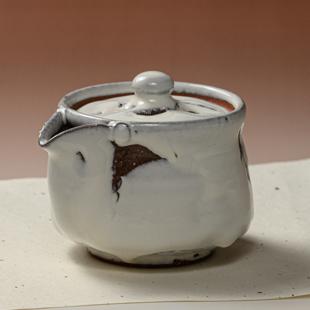 萩焼(伝統的工芸品)煎茶急須鬼白竹筒雀口