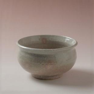 萩焼(伝統的工芸品)建水姫萩荒朝顔
