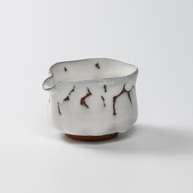 萩焼(伝統的工芸品)湯冷まし小鬼白松筒