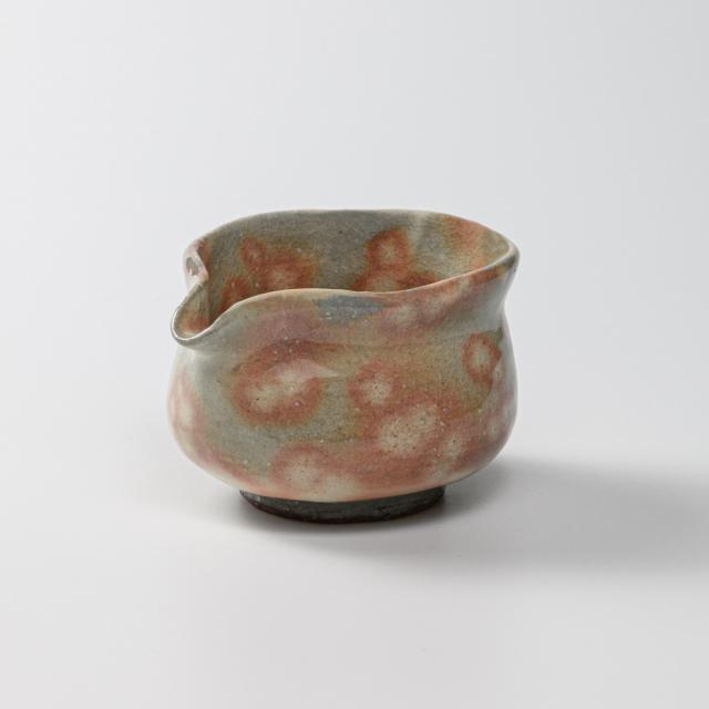 萩焼(伝統的工芸品)湯冷まし小御本手筒No202