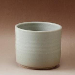萩焼(伝統的工芸品)フラキャンポット大姫萩筒穴無し