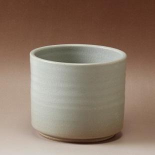 萩焼(伝統的工芸品)フラキャンポット特大姫萩筒穴無し