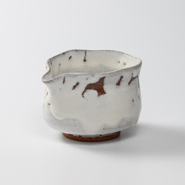 萩焼(伝統的工芸品)湯冷まし大鬼白竹筒
