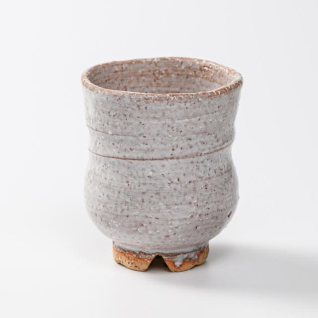 萩焼(伝統的工芸品)湯呑小鬼萩胴締