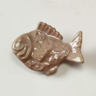 萩焼(伝統的工芸品)押し型箸置き姫萩たい