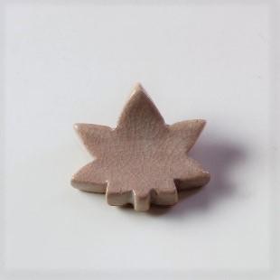 萩焼(伝統的工芸品)抜き型箸置き姫萩紅葉