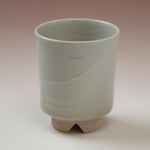萩焼(伝統的工芸品)湯呑刷毛姫筒