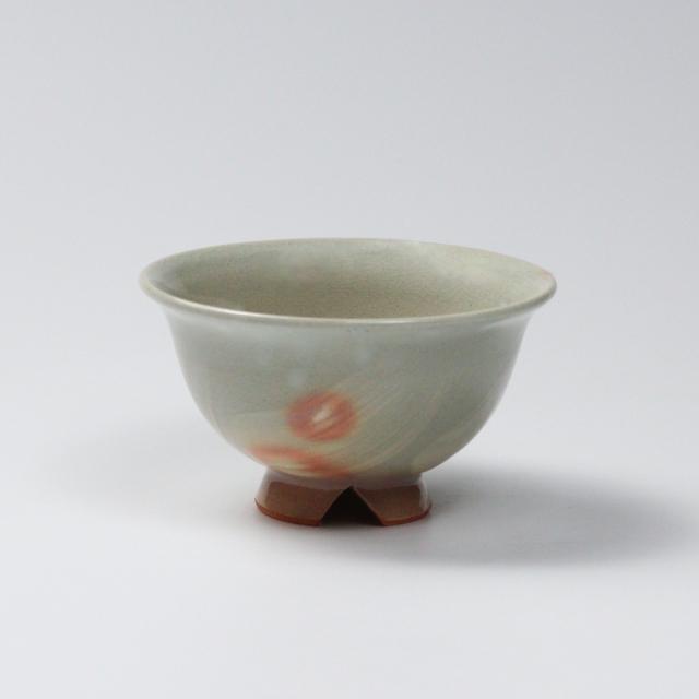 萩焼(伝統的工芸品)飯碗小刷毛姫朝顔No301