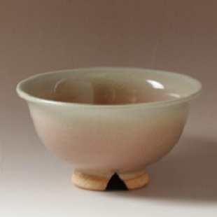 萩焼(伝統的工芸品)飯碗姫萩朝顔