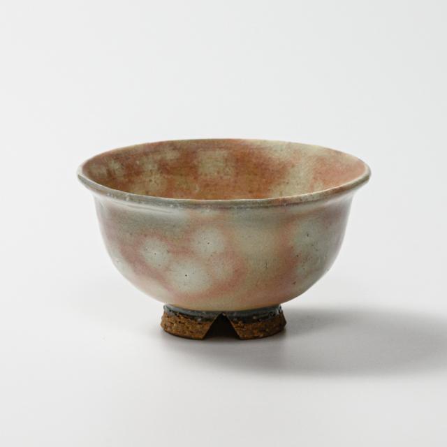 萩焼(伝統的工芸品)飯碗小御本手朝顔