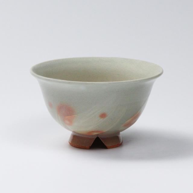 萩焼(伝統的工芸品)飯碗大刷毛姫朝顔No341