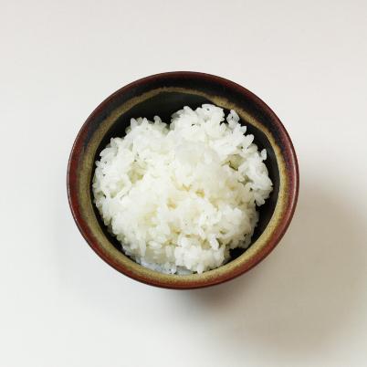 萩焼(伝統的工芸品)飯碗大掛分け(黒釉&わら)朝顔No351