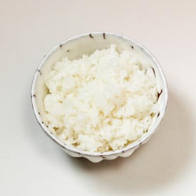 萩焼(伝統的工芸品)飯碗大掛分け(鬼白荒松&黒釉)呉器No358