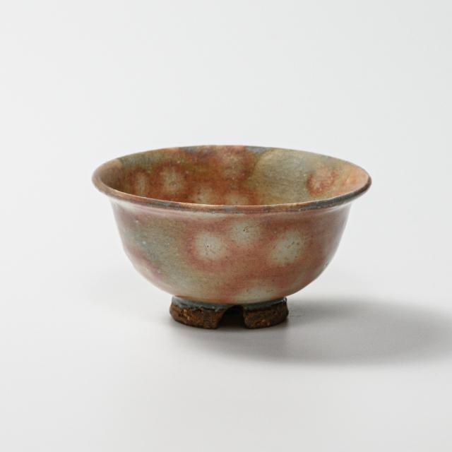 萩焼(伝統的工芸品)飯碗極小御本手朝顔No382