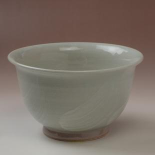 萩焼(伝統的工芸品)どんぶり小刷毛姫朝顔