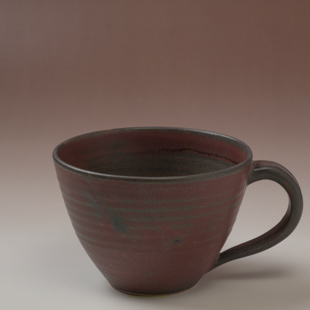 萩焼(伝統的工芸品)とってどん小鉄赤釉呉器