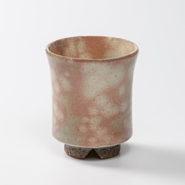 萩焼(伝統的工芸品)湯呑大御本手端反