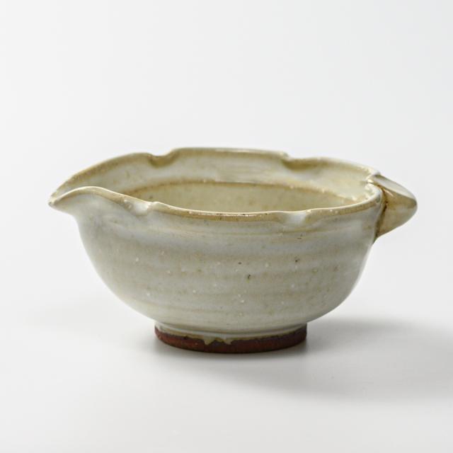 萩焼(伝統的工芸品)小鉢わら緑木の葉