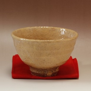 萩焼(伝統的工芸品)抹茶碗枇杷荒荒井戸形