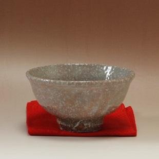 萩焼(伝統的工芸品)抹茶碗上化粧荒斗々屋