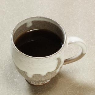 萩焼(伝統的工芸品)マグカップ大白萩掛分け呉器