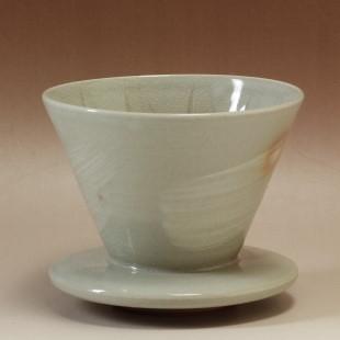 萩焼(伝統的工芸品)ドリッパー刷毛姫丸