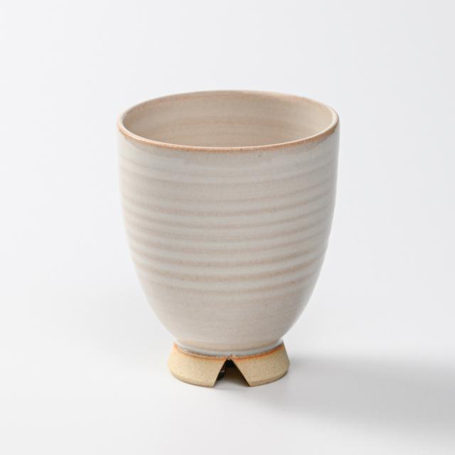 萩焼(伝統的工芸品)湯呑大白姫呉器