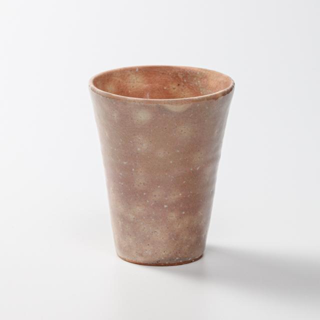 萩焼(伝統的工芸品)タンブラー小御本手筒碁笥底