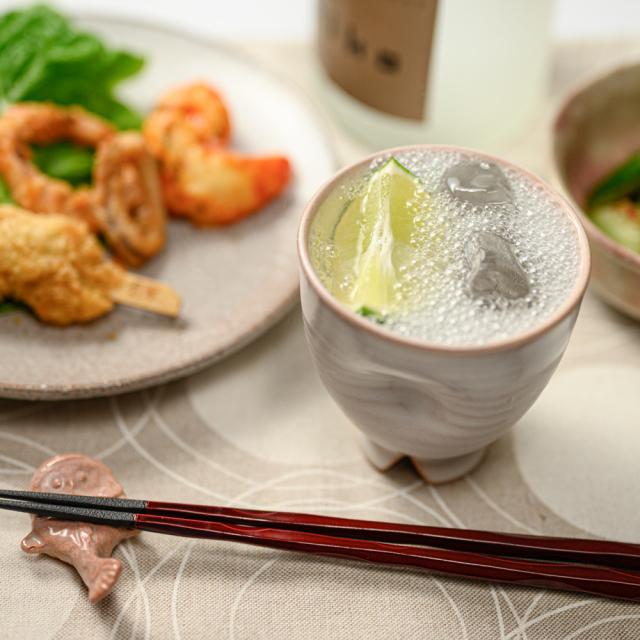 萩焼(伝統的工芸品)フリーカップ白姫呉器えくぼNo763