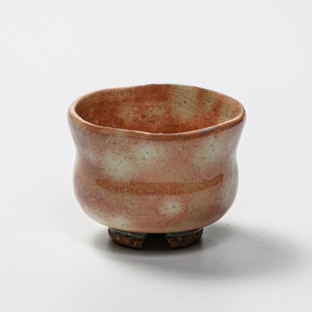 萩焼(伝統的工芸品)ぐい呑御本手胴締No808