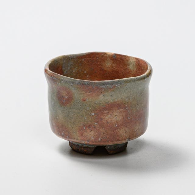 萩焼(伝統的工芸品)ぐい呑御本手筒