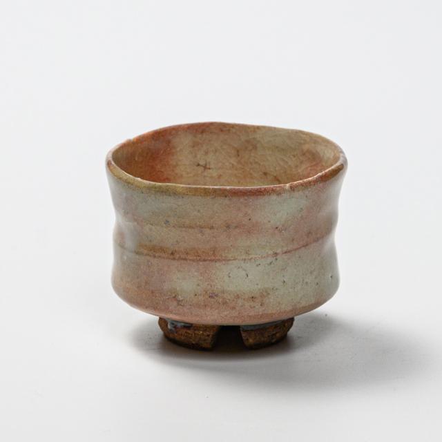 萩焼(伝統的工芸品)ぐい呑御本手端反