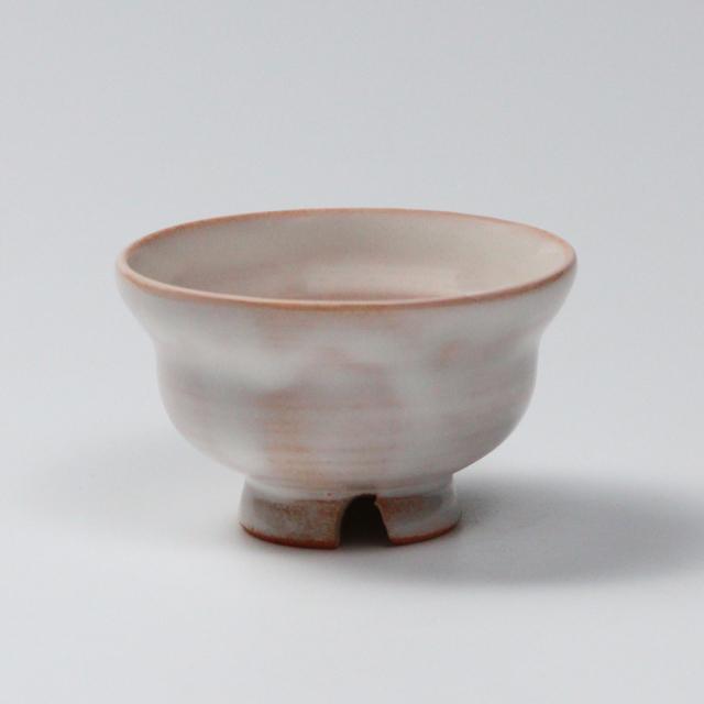 萩焼(伝統的工芸品)ぐい呑白姫ひさごNo845