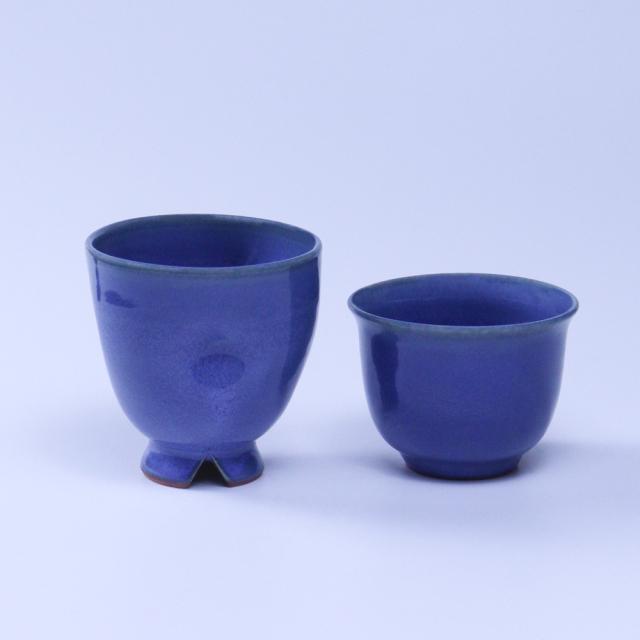 【福箱30+3】No9023青釉フリーカップ・そばちょこ