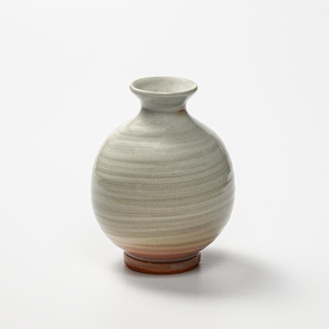 萩焼(伝統的工芸品)徳利刷毛姫丸