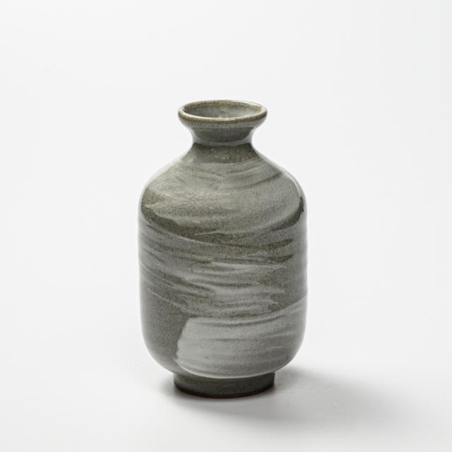 萩焼(伝統的工芸品)徳利刷毛青肩衝No912