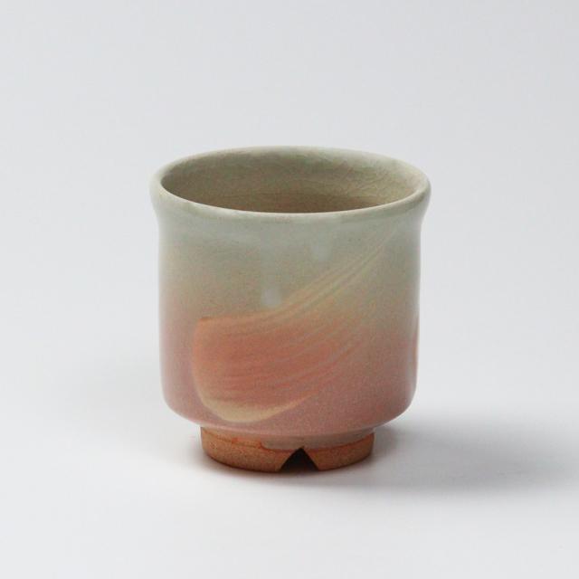 萩焼(伝統的工芸品)小湯呑刷毛姫筒