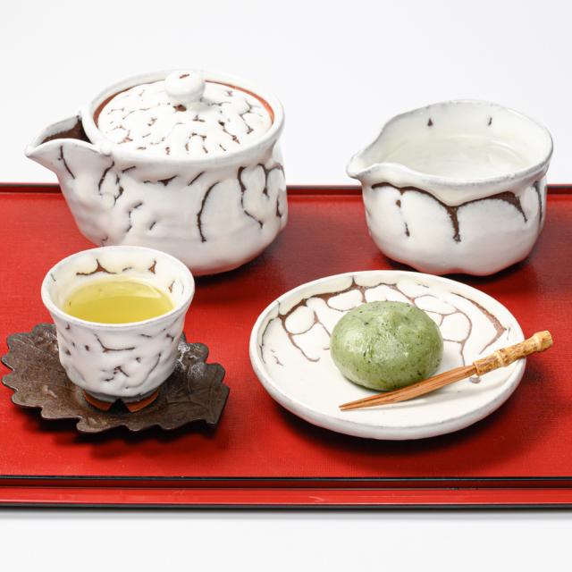 萩焼(伝統的工芸品)煎茶器のイメージ